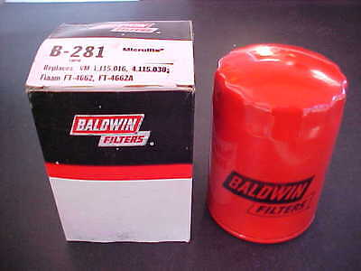 Maserati Engine Oil Filter Baldwin B 281 OEM