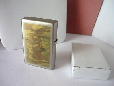 New Camouflage Cigarette Lighter with Original Box & Instructions on Rummage
