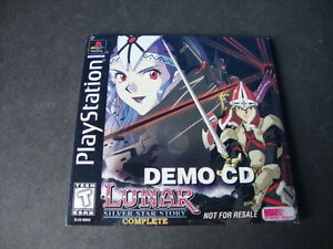Lunar-Silver-Star-Story-Complete-Demo-CD-BRAND-NEW-VERY-RARE-Playstation-1