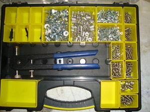 Nutsert-Rivnut-Tool-Kit-M4-M8-Inc-Aluminium-Rivets-S-S-Socket-Button-Heads