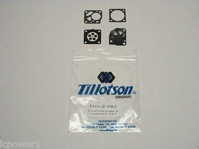[till] [dg-2hu] Genuine Tillotson Hu Carburetor Gasket & Diaphragm Kit