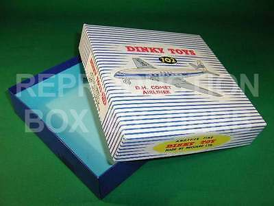 Dinky 702 D H Comet Airliner - Reproduction Box By Drrb