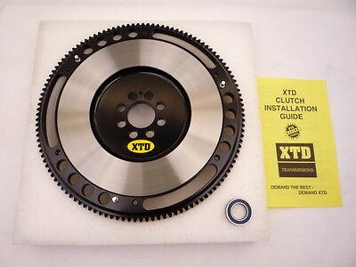 Xtd 4140 Chrome-moly Racing 10lbs Clutch Flywheel Fits Honda H22 H23 F22 F23