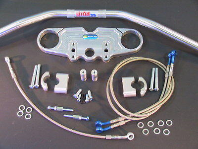 *Superbike Lenker Umbau - Kit Kawasaki ZX 7 - R / RR ab '95