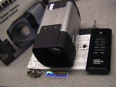Police Dash Cam 27x Optical Zoom Camera 700tv Sony Ccd Day Night+wireless Remote