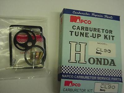 Honda Cl 90 Cl-90 Benly Carburetor Tune-up Kit Made In Japan