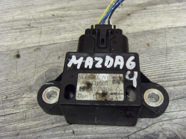MAZDA 6 GG GY 2.0   Beschleunigungssensor Sensor GJ6E-437Y1 (4)