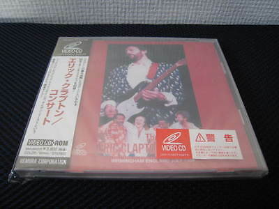 Eric Clapton Concert 1986 Japan Video CD-Rom Factory Sealed Phil Collins Genesis