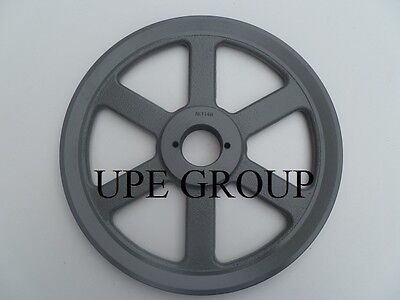 Cast Iron Pulley Sheave 11.25 For Electric Motor 1 Groove 3l 4l & A Belts