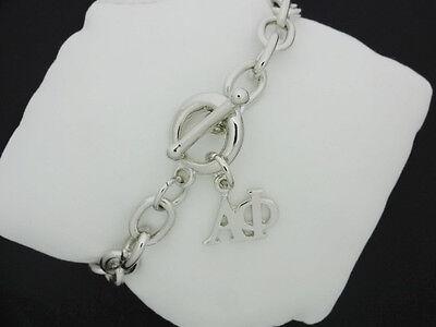 Alpha Phi Rolo Toggle Greek Sorority Bracelet Necklace Jewelry Fbr1046