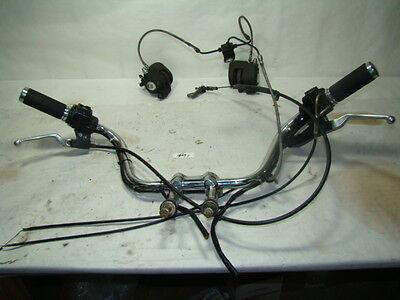 EPS15491 Harley FXRT FXR handlebars + switches + housings + m/c + brake calipers
