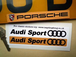 AUDI-SPORT-Number-Plate-Dealer-Logo-Cover-stickers-S4-5-A3-A4-7-Quattro-TT-Q7-Q5
