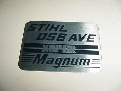 Stihl Chainsaw 056 Name Tag Box