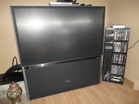 "super television tv  HD toshiba 57"" tres peux utilier"