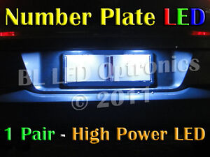 Number License Plate WHITE SMD LED Light for Nissan Skyline R32 R33 R34