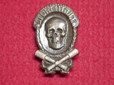 German WWI Stormtrooper Badge 1914 - 1918 - Bronze