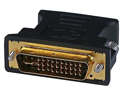 New M1-A(P&D) Male to VGA (HD-15) Female Adapter - Gold Plated