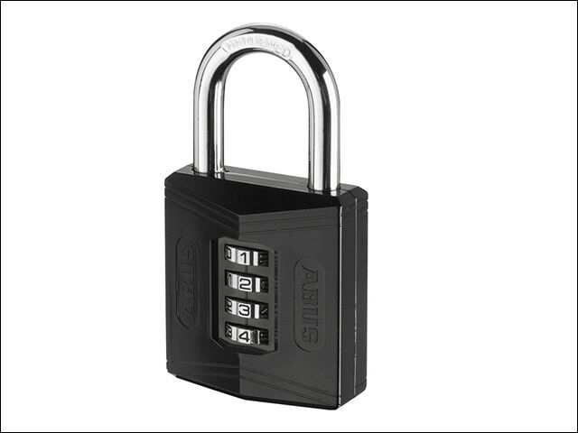 Abus 158/50 50mm Combination Padlock Carded 35012