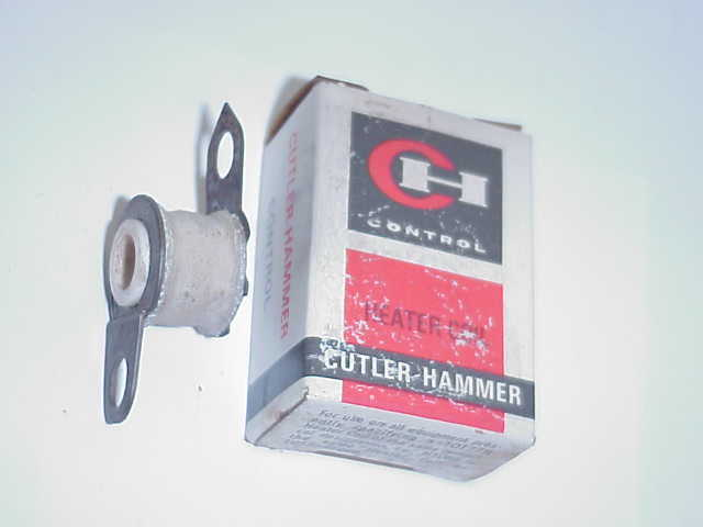 2 CUTLER HAMMER H1017 MOTOR STARTER THERMAL UNITS / OVERLOAD HEATERS- OLD STOCK