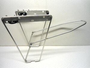ALUMINIUM-FRONT-PANNIER-LUGGAGE-CARRIER-RACK-LOW-RIDER-TOURING-NEW-UNUSED