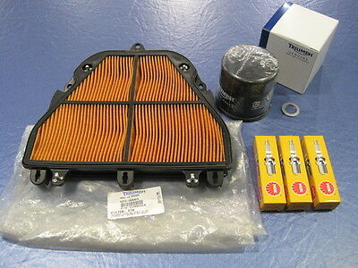 GENUINE TRIUMPH SERVICE KIT STREET TRIPLE 675 FROM VIN NUMBER 560477