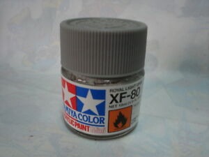TAMIYA-ACRILICO-10-ml-XF80-ROYAL-LIGHT-GRAY