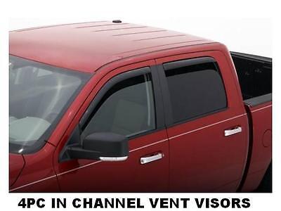 194155 Avs Rain Guards Vent Visors 2009-2012 Ford F150 Super Crew on Sale