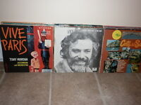 microsillons anciens, disques vinyles 33 tours