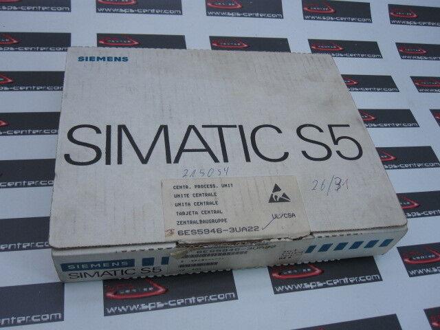 Siemens TOP CPU *6ES5946-3UA22*6ES5 946-3UA22*6ES5 946 3UA22