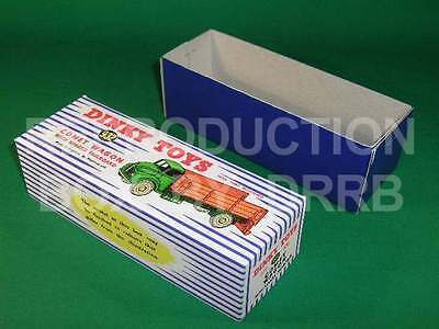 Dinky 932 Comet Wagon With Hinged Tailboard - Reproduction Box By Drrb