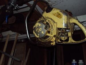 Antique Chainsaw