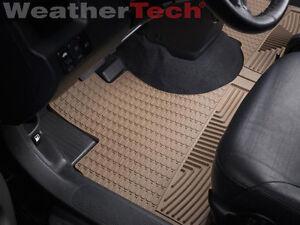 weathertech  weather floor mats honda cr    tan ebay
