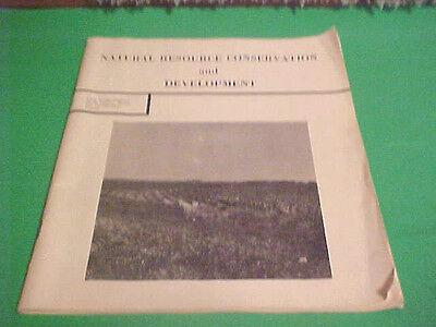 1965 Natural Resource Conservation   Development Long Range Program Book Kansas