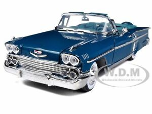 1958-CHEVROLET-IMPALA-TURQUOISE-1-18-DIECAST-MODEL-CAR-BY-MOTORMAX-73112