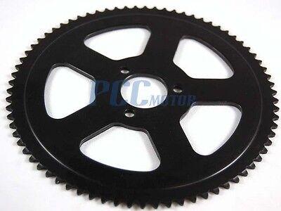 Mini Dirt Pocket Bike Rear Sprocket 74t For 25h Chain 47cc 49cc U Rs16