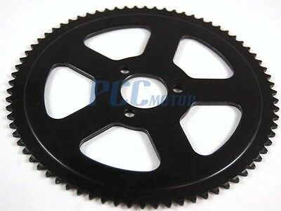 Mini Dirt Pocket Bike Rear Sprocket 74t For 25h Chain 47cc 49cc U Rs16