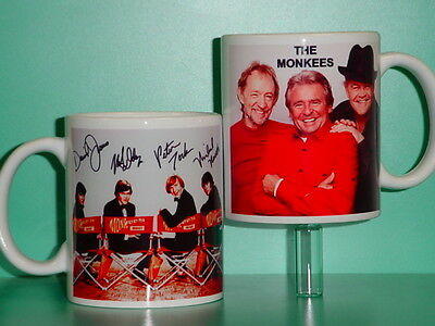 THE MONKEES - DAVY JONES - with 2 Photos - Designer Collectible GIFT Mug