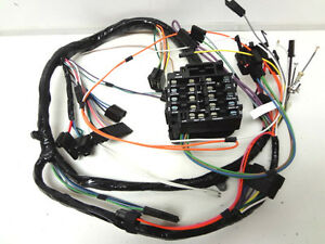 85 cutlass fuse box 1985 oldsmobile cutlass fuse box olds cutlass 442 f85 dash wire wiring harness with rally ...