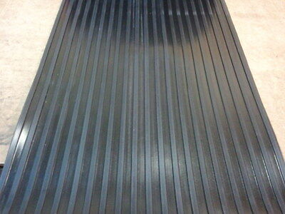 "WIDE RIB RUBBER MATTING 48"" WIDE on Rummage"