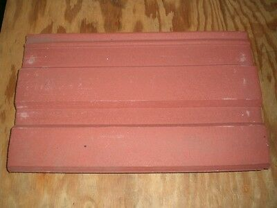 Ro-Tile Bar Style  Concrete Roof Tile Red  tile