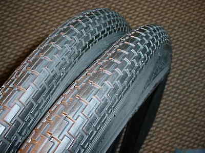 Bicycle Balloon Tires Fit Monark Silver King Rollfast Murcury Bikes