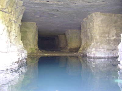 12.47 Acres With a 5 Acres underground CAVE. Bunker Preper Water Lake Troutt