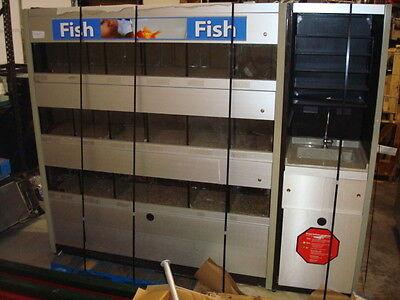 Lot Of 8 Marineland Fish Aquarium Retail All In One Retail Center Mars