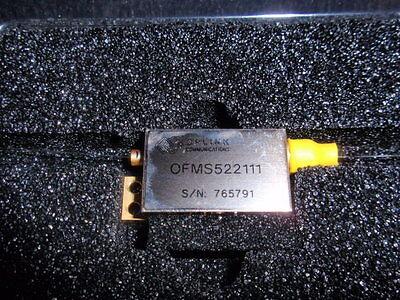 New Oplink Ofms 522111 Single Mode 1x2 Adddrop Optical Fiber Switch Mems Smf