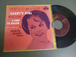 MARCIE-BLANE-Japan-1963-7-034-45-BOBBY-039-S-GIRL