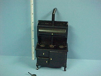 Dollhouse Miniature Wood Stove T6105