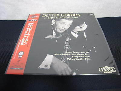 Dexter Gordon Cafe Montmartre Japan Laserdisc w OBI Factory Sealed New Laser LD