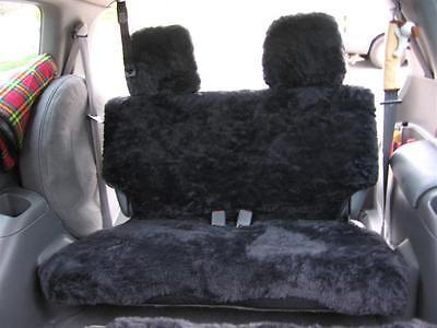 Grey Fur Seat Cover ( Sheepskin Look ) F+m+r To Suit Honda Odyssey 1995 - 2000