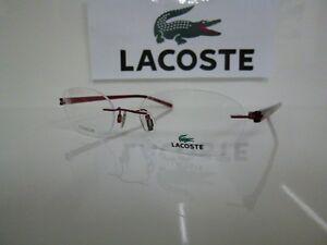 Originale Brille - Korrektionsfassung - LACOSTE randlos, Titan, LA 12029 RE 51