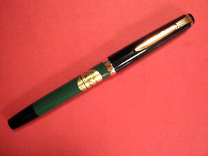 Stunning Mint REFORM Piston Fill Fountain Pen Germany gold Trim NOS vintage nib